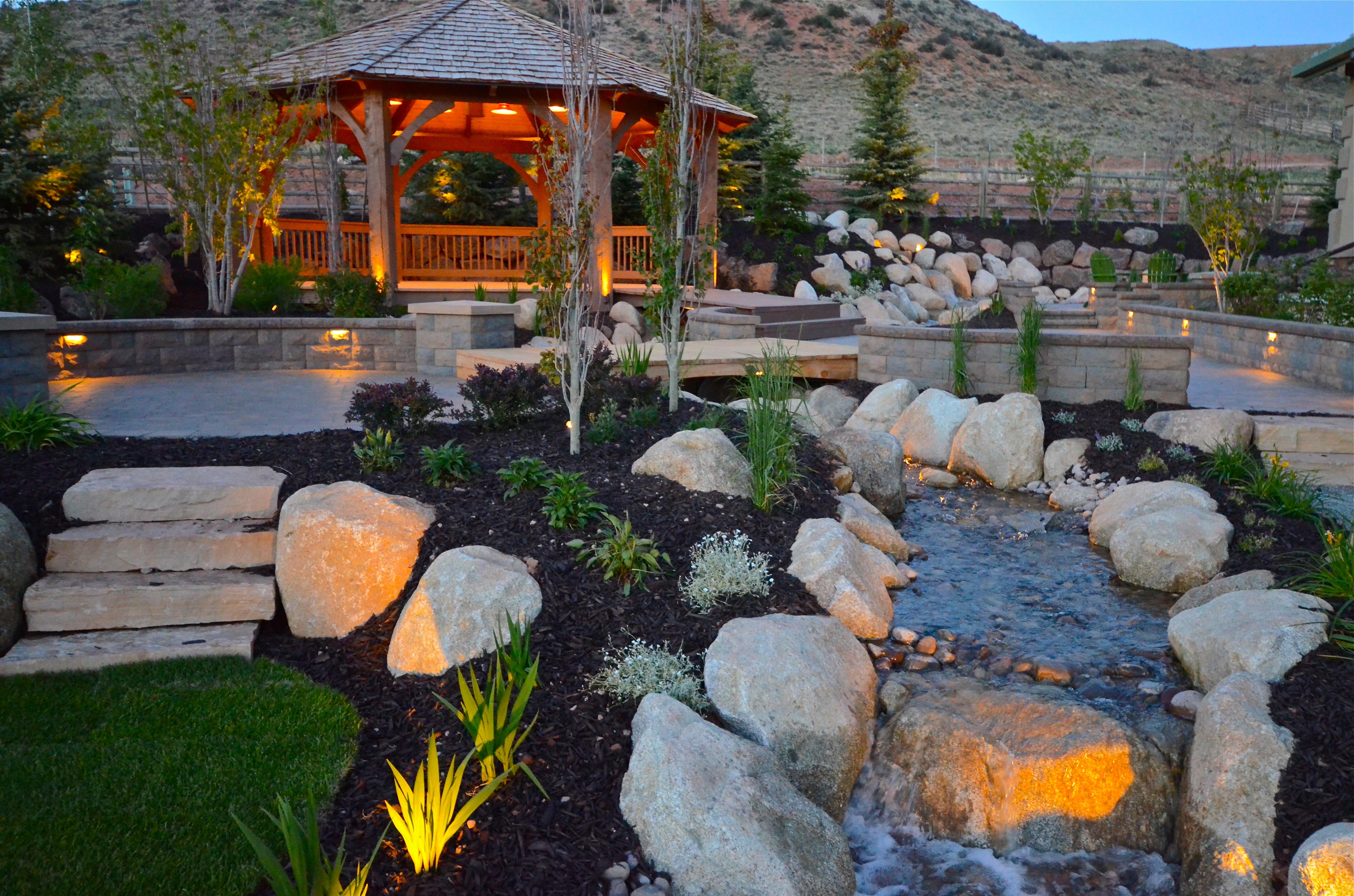 Zelf Tuin Aanleggen : Tuinverlichting zelf aanleggen tuinierservice